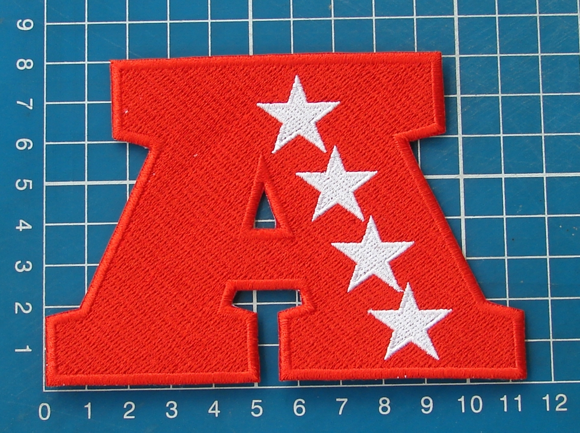 "Primary image for AMERICAN FOOTBALL CONFERENCE AFL NFL LOGO PATCH 4.5"" JERSEY EMBROIDERED"