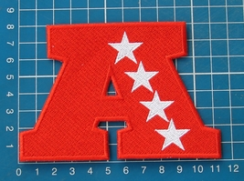 "AMERICAN FOOTBALL CONFERENCE AFL NFL LOGO PATCH 4.5"" JERSEY EMBROIDERED - $9.99"