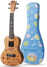Uma Classic Series Bread Tree Concert Ukulele with 20mm Deluxe Gig Bag - $95.03