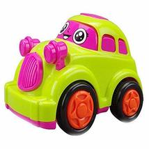 PANDA SUPERSTORE Cute Cartoon Car Wind-up Toy for Baby/Toddler/Kids (Color Rando