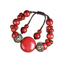 Chinese Style Woven Jewelry Ethnic Handmade Bracelets Agate Bracelet Retro