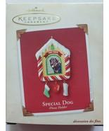 2002 Hallmark Keepsake Special Dog Photo Holder Ornament New in Box - $14.99