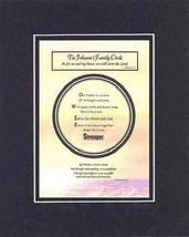Personalized Touching and Heartfelt Poem for Home - Family Circle Plaque on 11 x - $19.75