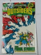 The Outsiders Comic Book #28 DC Comics 1988 - C4641 - $2.99