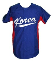 Shin-Soo Choo South Korea Baseball Jersey Button Down Blue Any Size image 1