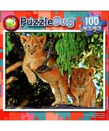 Cute Lion in the Tree - 100 Pieces Jigsaw Puzzle - $10.99