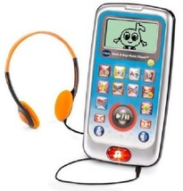 Kids Music Player W Headphones Learning Electronic Games Songs Toy Age 3... - $24.25