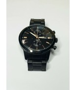 Fossil FS5379 Men's Black Townsman Analog Quartz Watch Chronograph (Smal... - $48.95
