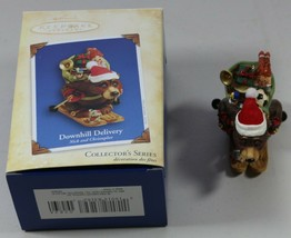 Hallmark Keepsake Downhill Delivery Nick & Christopher Christmas Ornamen... - $12.58