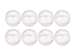 "Vending Machine Empty Round Capsules 1.1"" 50 pcs Bulk Capsule for Toy Gumball Ma"