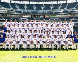 2015 NEW YORK METS 8X10 TEAM PHOTO BASEBALL MLB PICTURE NY NL CHAMPS - $3.95