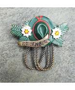 KOTTENBERG Rope Vintage Oktoberfest Hesse Bavarian Fedora Hat Pin Germany - $14.99