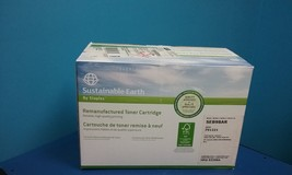 Sustainable Earth Remanufactured Black Laser Toner Cartridge ,92298A , H... - $38.99