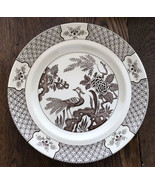 """WOOD & SONS - YUAN CHOCOLATE BROWN - 10 1/4"""" DINNER PLATE - MADE IN ENGL... - $18.32"""