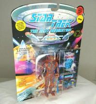 Playmates Toys Star Trek TNG Lt. Laforge As Tarchannen III Alien 7th Ac... - $29.65