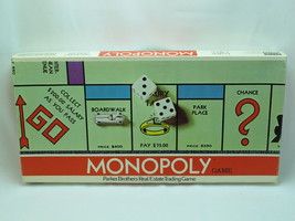 Monopoly 1961 English Edition Parker Brothers Canada Complete Excellent ... - £20.84 GBP