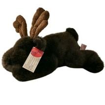 Gusto Plush Moose Elk Deer Russ Berrie Stuffed Animal Plushie Retired St... - $16.99