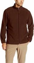 Medium Men's White Sierra Mountain II Full Zip Fleece Jacket Picante NEW