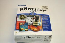 Broderbund The Print Shop Deluxe Version 2.9 Big Box NEW SEALED NOS - $19.79