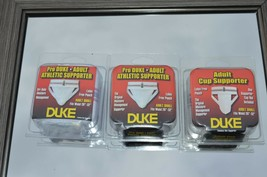 """Lot of 3** Duke Adult Athletic Supporter Adult Small Waist 26""""-32"""" Style... - $15.85"""