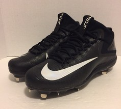 28f7d724e669 Men s Nike Zoom Trout 3 Metal Baseball Cleats Black 856503-011 (Sz 11.5