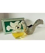 "Vintage 1976 Avon ""Silver Dove Ornament"" Bird of Paradise Cologne .5 oz.... - $18.99"