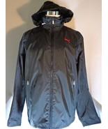 Puma Scuderia Ferrari Mens Black Lightweight Jacket Size Large Full Zip ... - $84.95