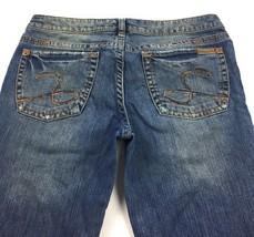 Silver Jeans Co. Kaleidoscope Distressed Denim Blue Jeans Women's Waist 29/ L33 - $12.82