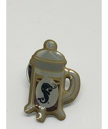 Rare Starbucks Coffee Journey Barista French Press Pin Award Old Logo - $12.97