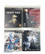 Lot Of 4 Assorted Sony PS3 Video Games Untested - $18.49