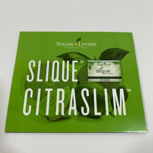 Primary image for Slique CitraSlim Brochure - Young Living Essential Oils