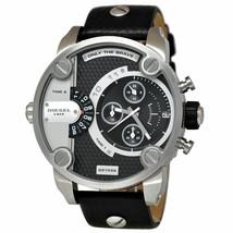 Diesel DZ7256 Little Daddy SBA Chronograph Leather Mens Watch - $161.75 CAD