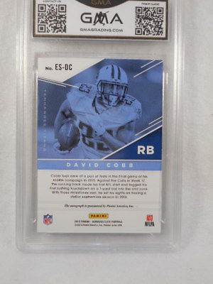 2016 Elite 66/86 David Cobb Auto GMA Graded Gem 10