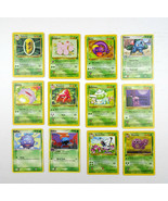 Lot Pokemon Trading Cards Nintendo First Edition Base 1999 Bulbasaur Ivy... - $32.62