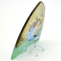 Fused Art Glass Garden Fairy Design Night Light Handmade in Ecuador image 3