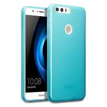 Flexible Drop Protection Precision Duragel TPU Case Blue Huawei Honor 8 - $13.25