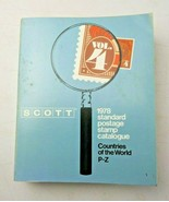 SCOTT 1978 Standard Postage Stamp Catalogue Countries of The World P-Z - $15.00