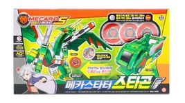 Pasha Mecard Megastarter Stargon Transformation Toy Car Vehicle Action Figure image 6