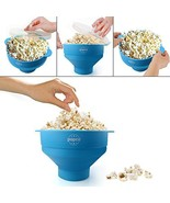 Popcorn Maker Microwave Foldable Silicone Popper Kitchen  - $28.20