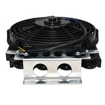 "5"" Oil Cooler with 10"" Electric Fan and 3/8"" Fitting 48"" L Hose Kit image 7"