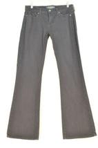 Lucky Brand jeans 8/29 x 32 black Sofia Boot stretch slight flare at bottom - $17.81