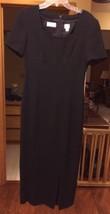 LIZ CLAIBORNE WOMEN'S DRESS LADIES FULL LENGTH BLACK LINED ALL PURPOSE  ... - $34.99
