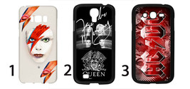 Cell phone case for Samsung with David Bowie Queen ACDC KISS Aerosmith PinkFloyd - $23.98
