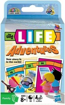 Family Card Games The Game of Life Adventures Kids Hasbro New  - $8.91
