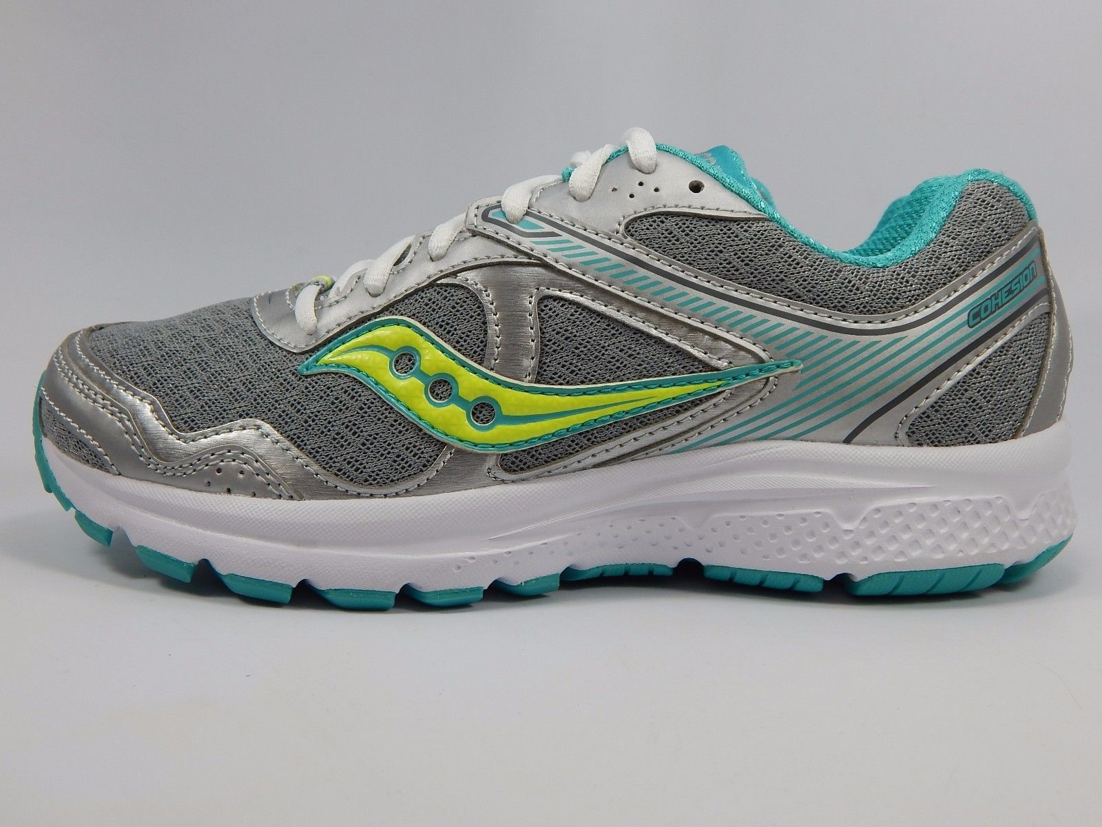 Saucony Cohesion 10 Women's Running Shoes Sz US 7 M (B) EU 38 Gray Teal S15333-1