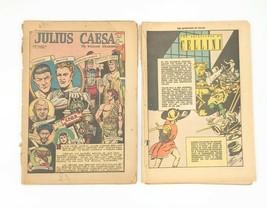 Lot of 2 Comics - Adventures of Cellini; Shakespeare's Julius Caesar No ... - $4.95