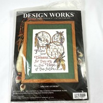 Dream Catchers Follow Your Dreams Counted Cross Stitch Embroidery Picture Kit  - $24.74