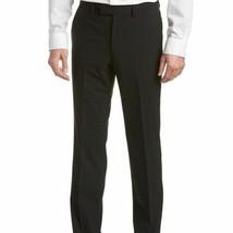 NEW Kenneth Cole Men's Precision Fit Dress Trousers Pants Black