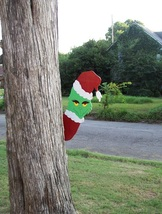 Grinch Tree Peeper Peeking Christmas Yard Woodworking Plans Pattern Dec... - $10.49