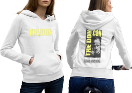 THE DON Hoodie Classic Women White - $35.99